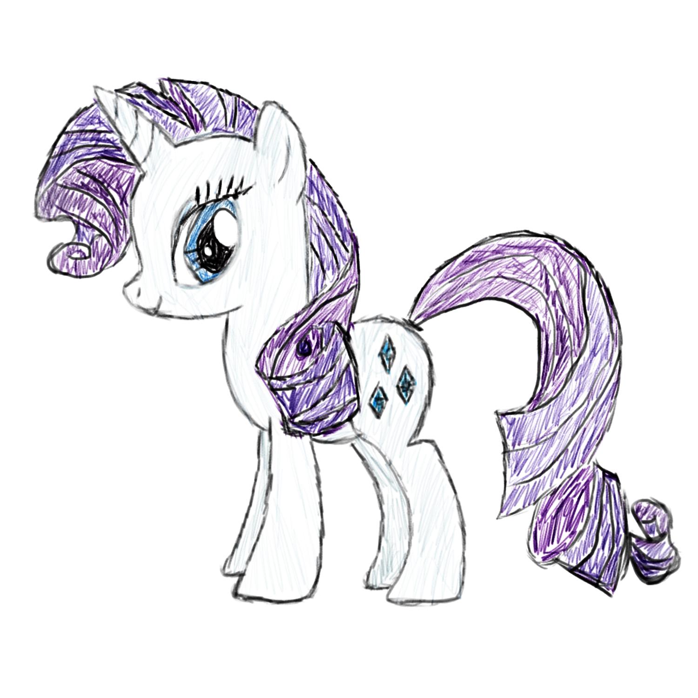 how to draw my little pony twilight