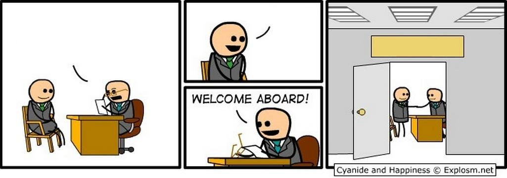 Template | Welcome Aboard! | Know Your Meme