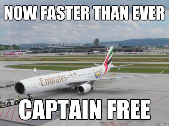 No Captain Needed