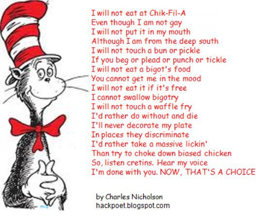 The Drunk Cat In The Hat Poem