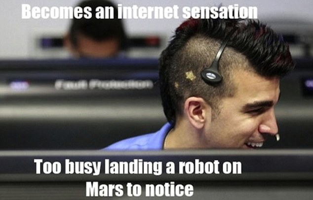 Nasa Mohawk Guy via lilblueboo.com