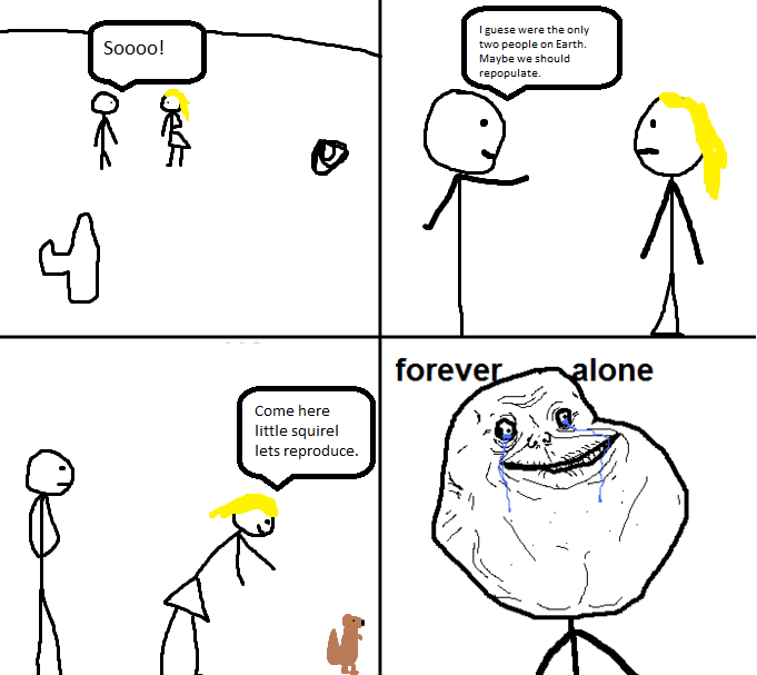 forever alone comic forever alone know your meme