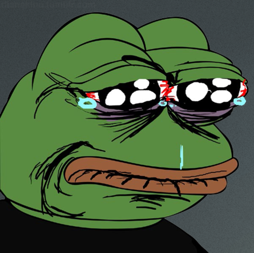 Sad Frog Crying