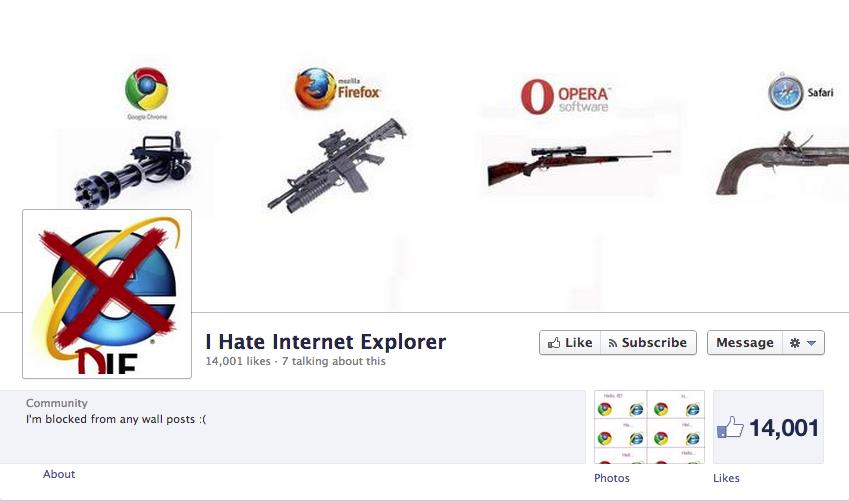 Image - 424047 | Internet Explorer | Know Your Meme