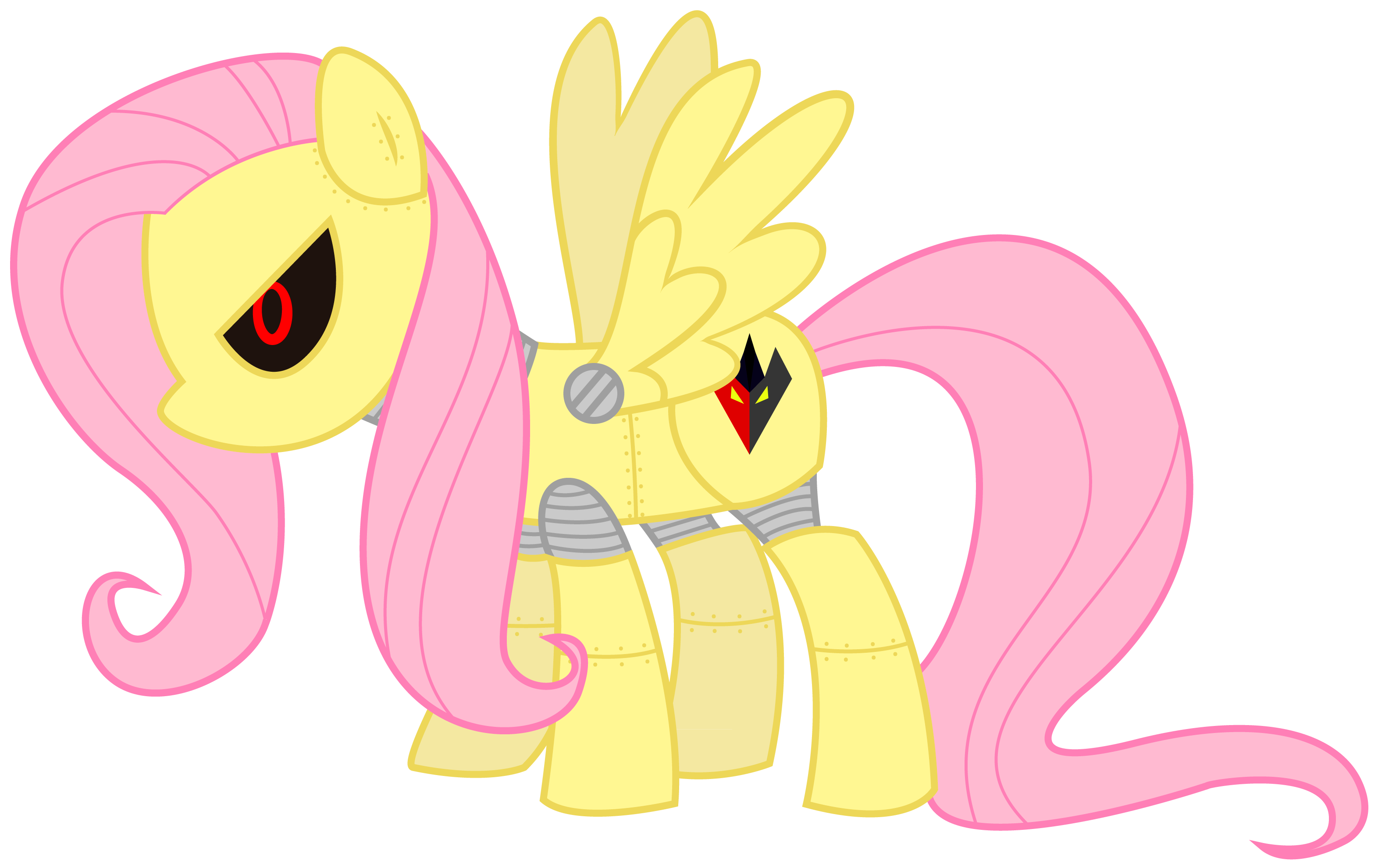 Mecha Fluttershy My Little Pony Friendship is Magic
