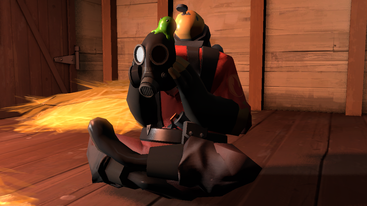 Image 450983 Pyro Sitting Down Know Your Meme