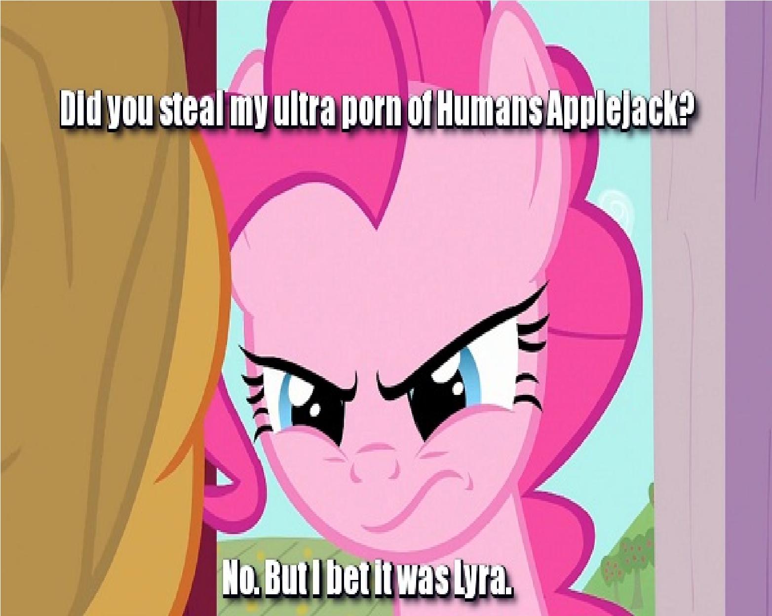 say no to pony porn