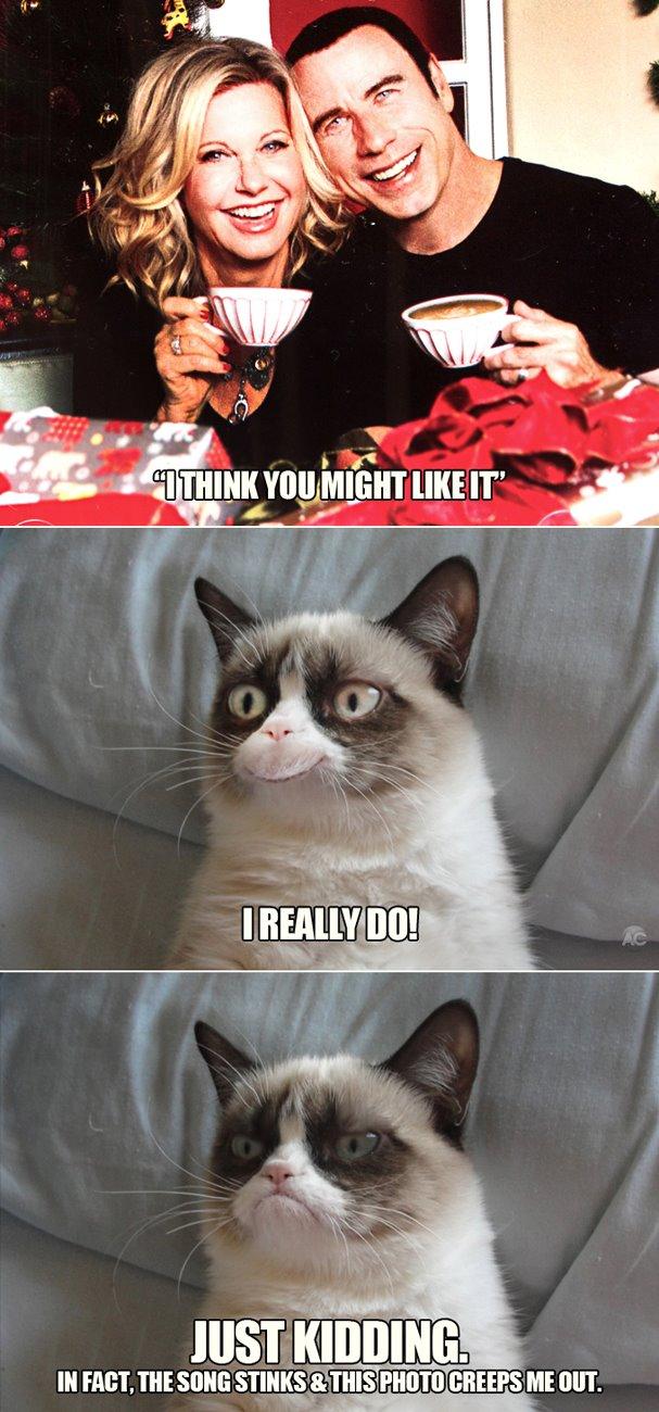 grumpy cat meme christmas tree - photo #9