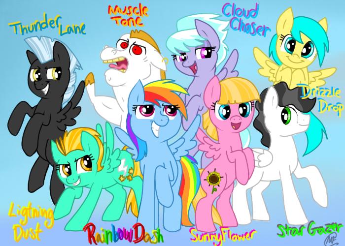 Wonder Bolt Academy | My Little Pony: Friendship is Magic ...  Wonder Bolt Aca...