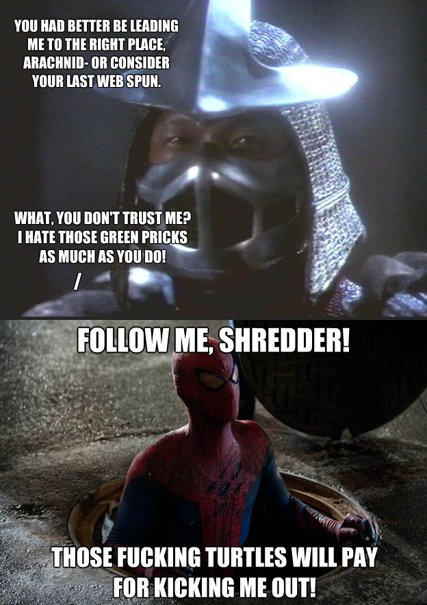 spidey gets vengeance