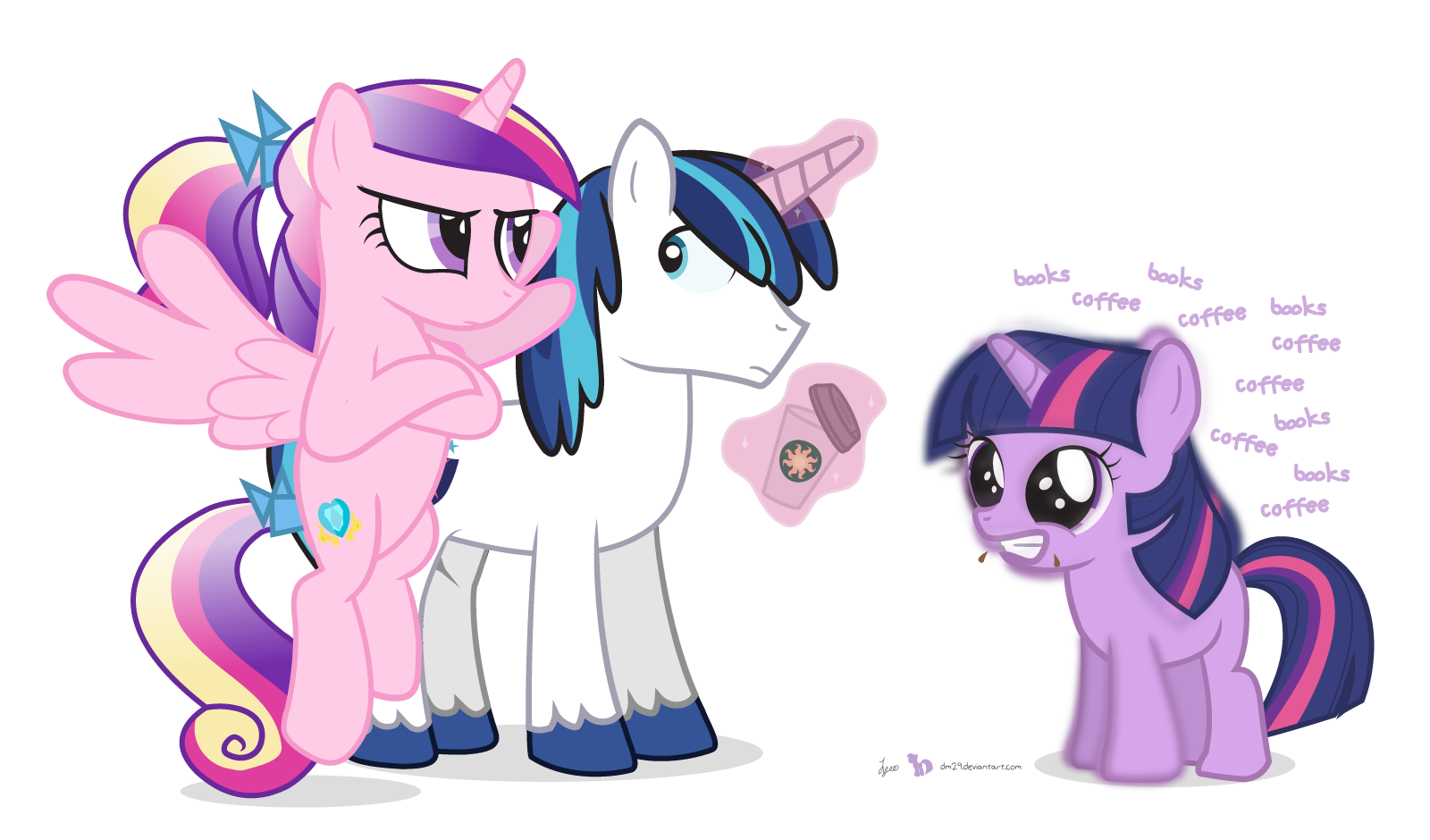 You Don't Give Coffee to a Filly | My Little Pony ...