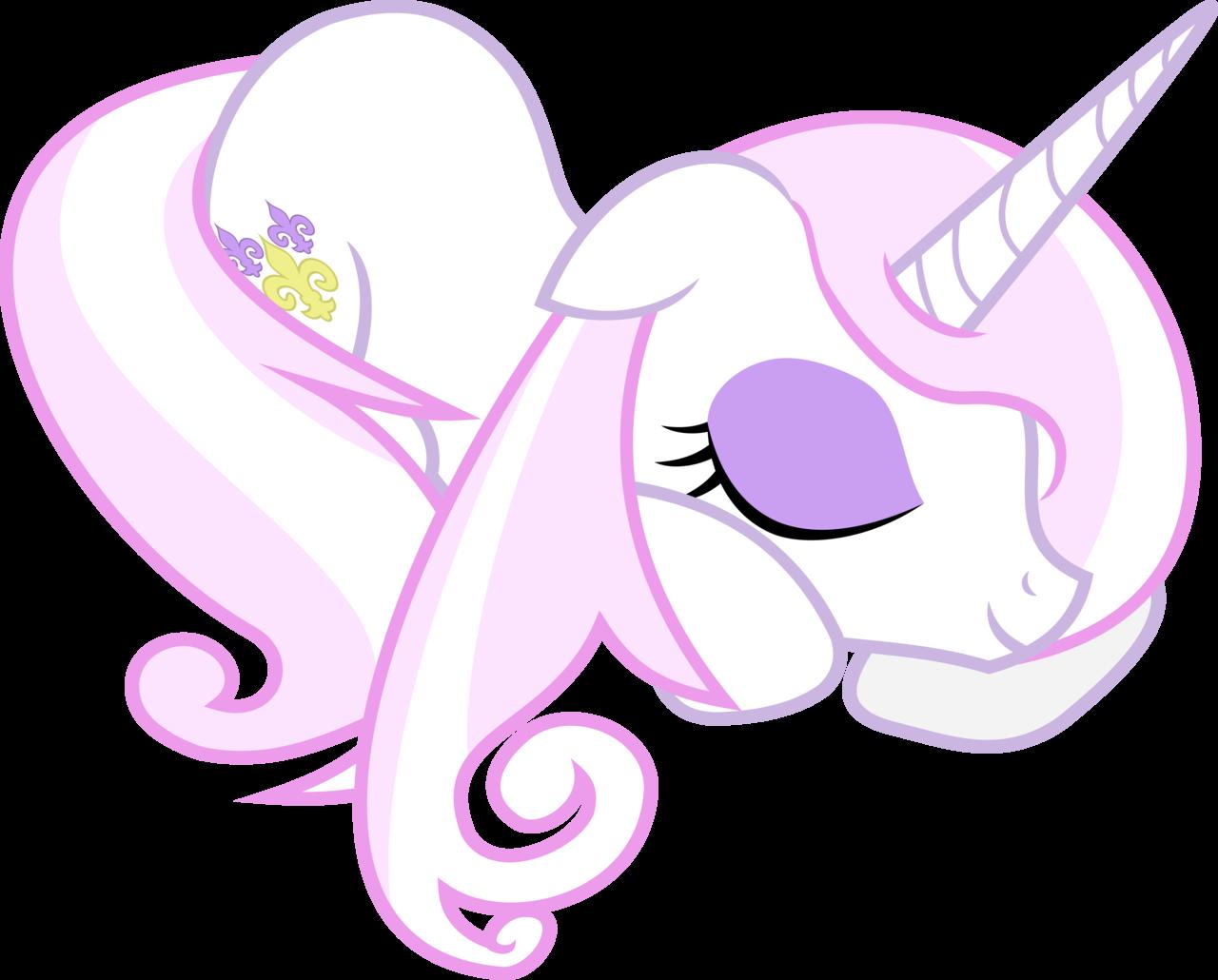 Sleeping Fleur De Lis | My Little Pony: Friendship is