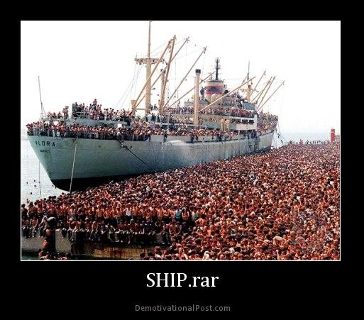 Ship.rar | Winrar | Know Your Meme