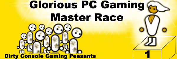 La PC gaming master race es superior a las consolas