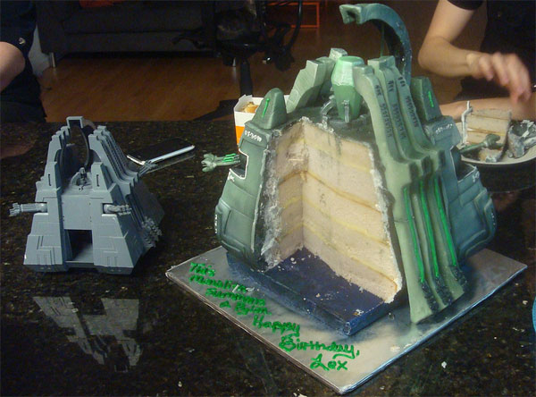 Necron Monolith Cake Warhammer 40 000 Know Your Meme
