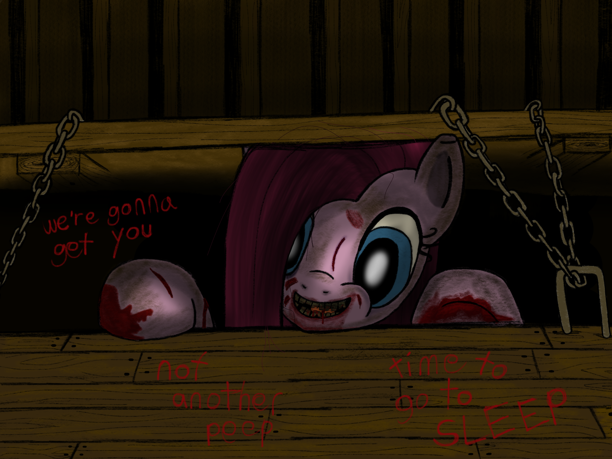 Pinkamena Evil Dead My Little Pony Friendship Is
