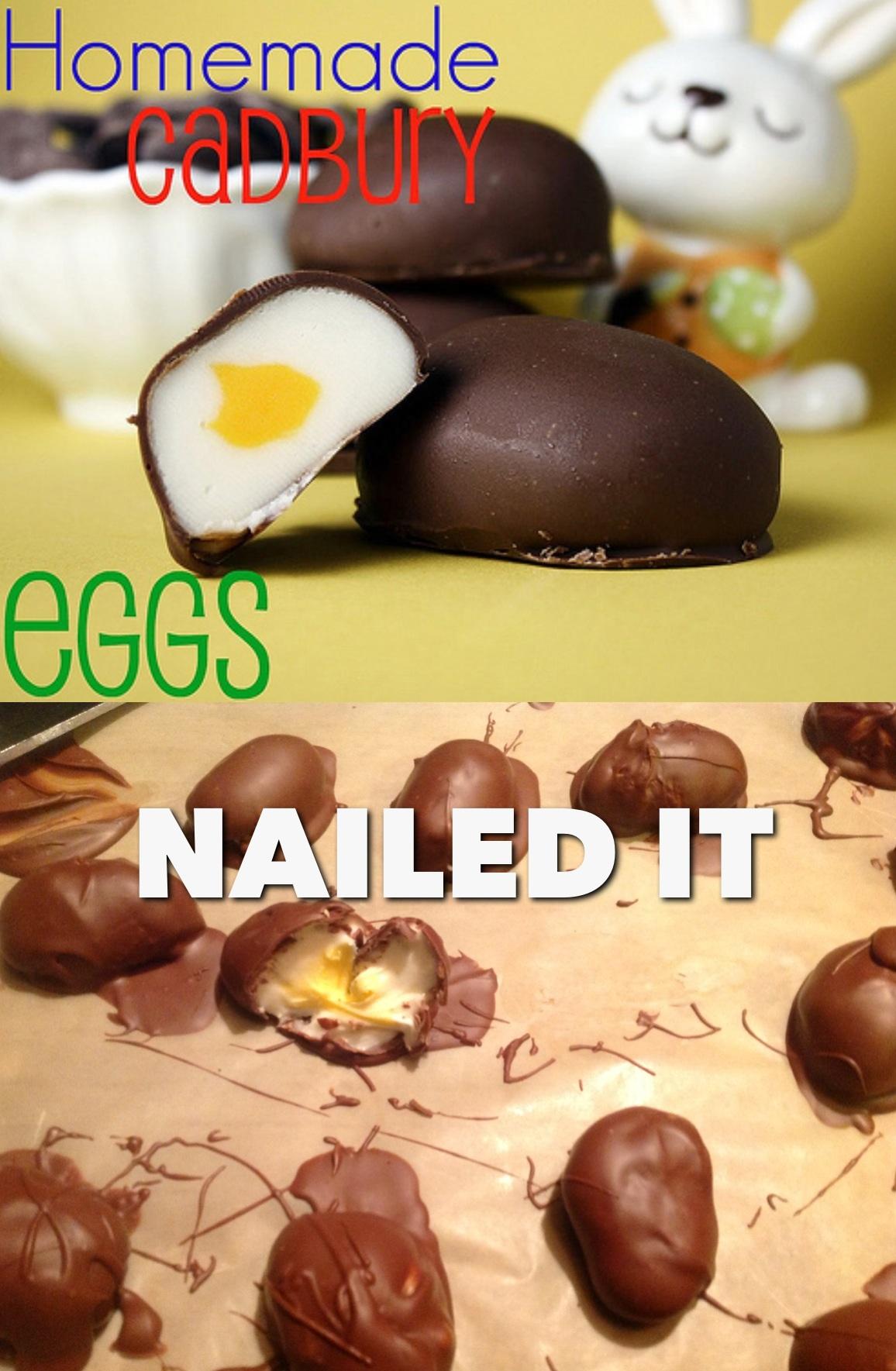 Homemade Cadbury Creme Eggs Nailed It Know Your Meme