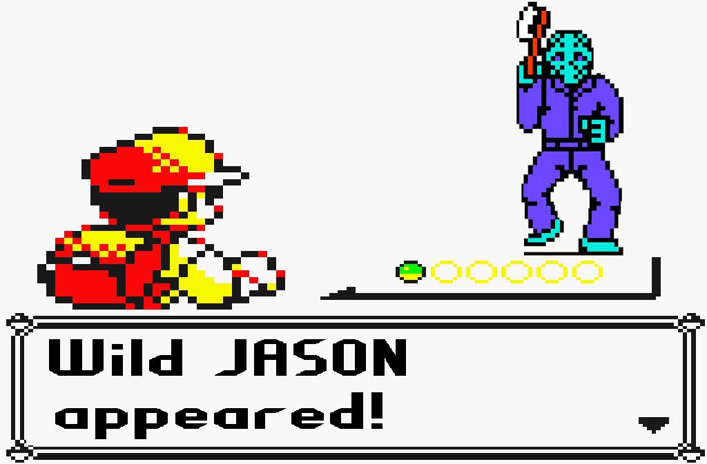 A wild JASON appeared | Pokemon | Know Your Meme A Wild Pokemon Appears