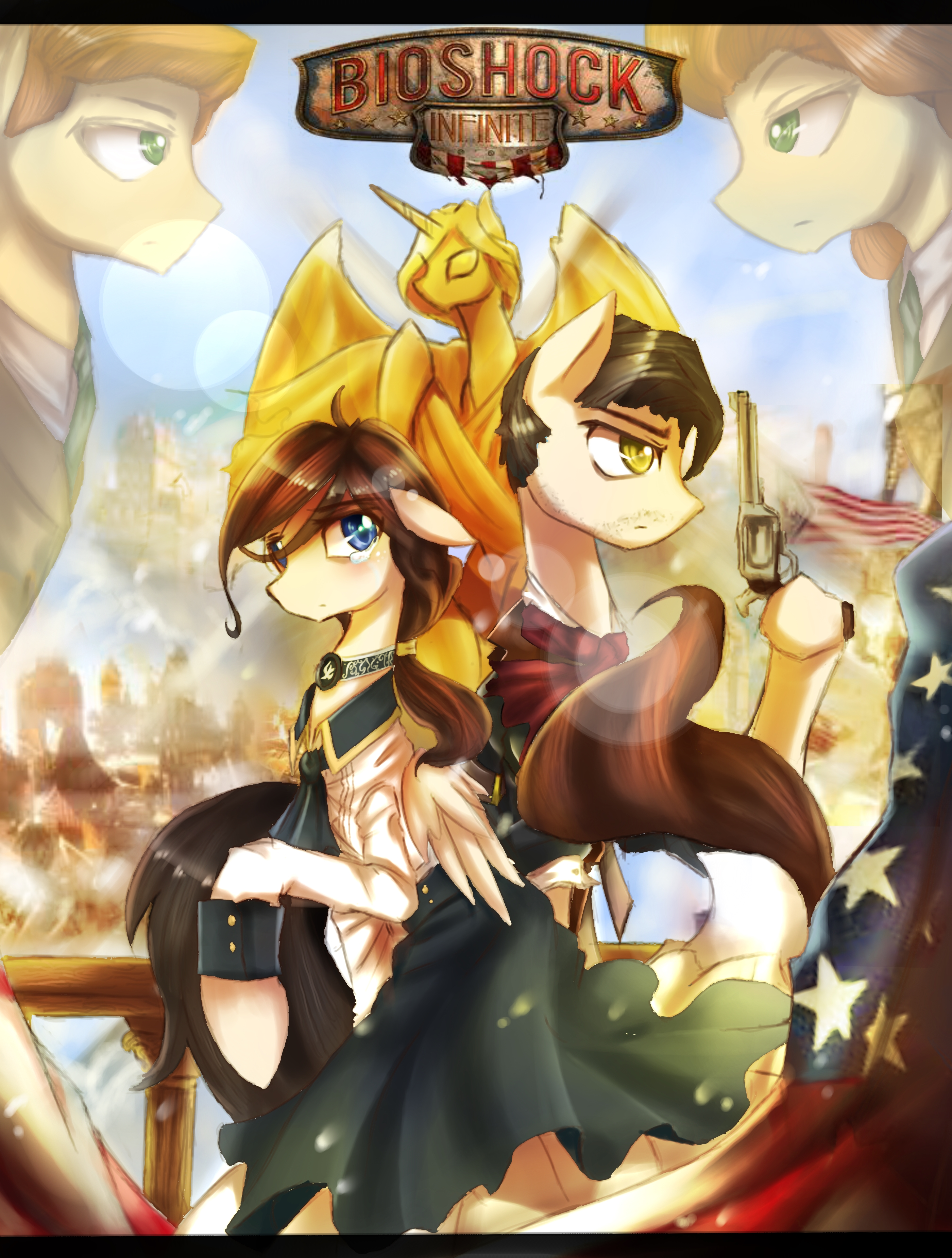 Bioshock Infinite My Little Pony Friendship Is Magic
