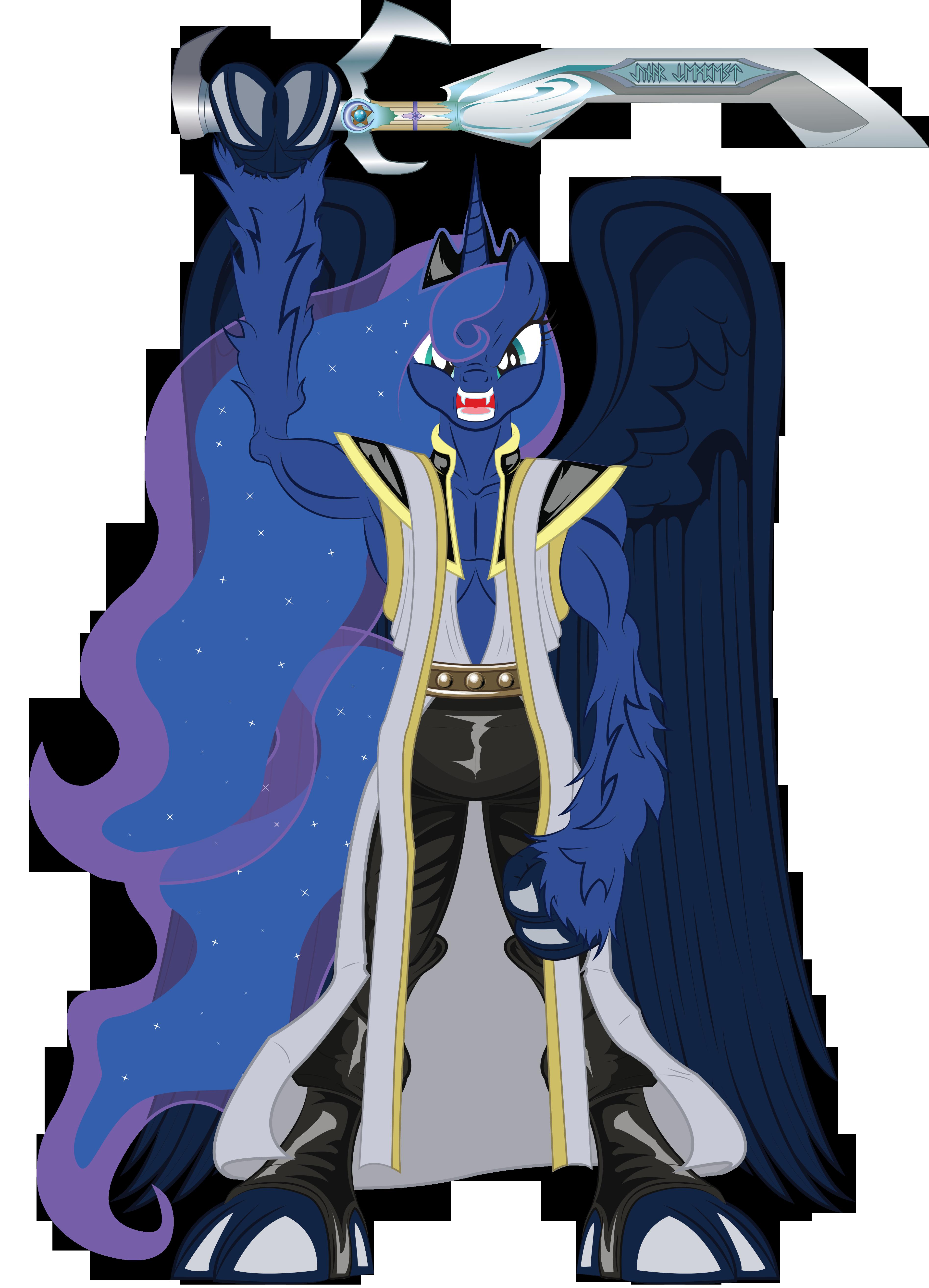 Princess Luna As Janos Audron My Little Pony Friendship Is Magic Know Your Meme
