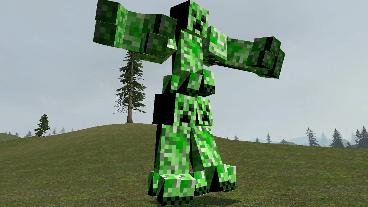 Minecraft Creeper In Real Life Real minecraft creeper real