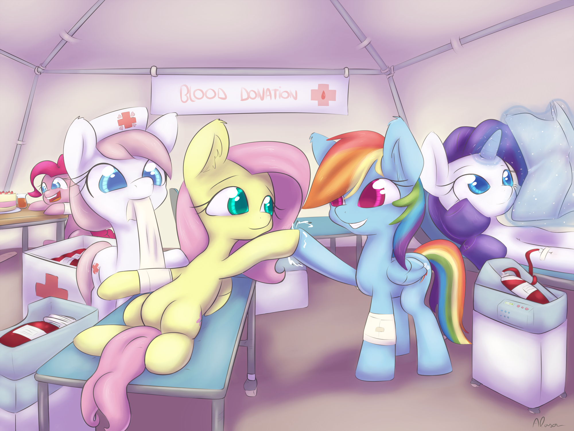 Blood Donation My Little Pony Friendship Is Magic
