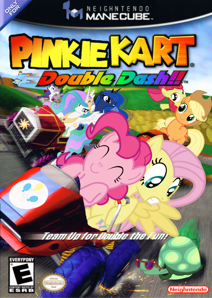 Pinkie Kart Double Dash My Little Pony Friendship Is