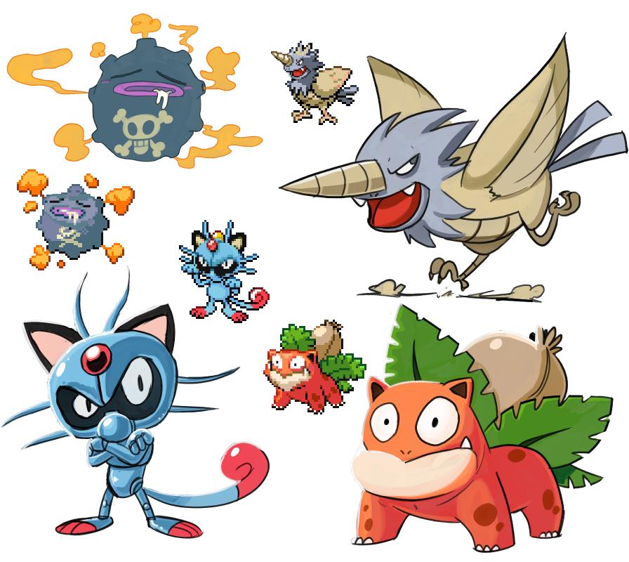 Tenth Or Meowcruel Pokefusion Pokemon Fusion Know