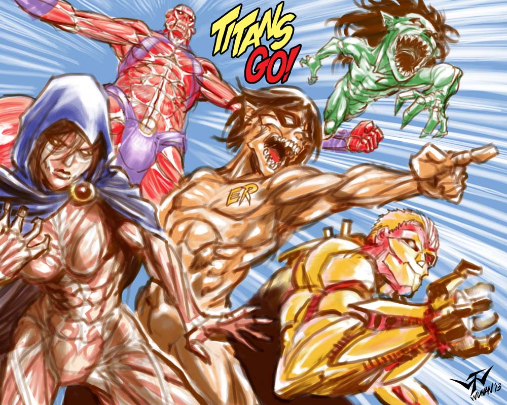 Teen Titans Go! | Attack on Titan / Shingeki No Kyojin | Know Your ...