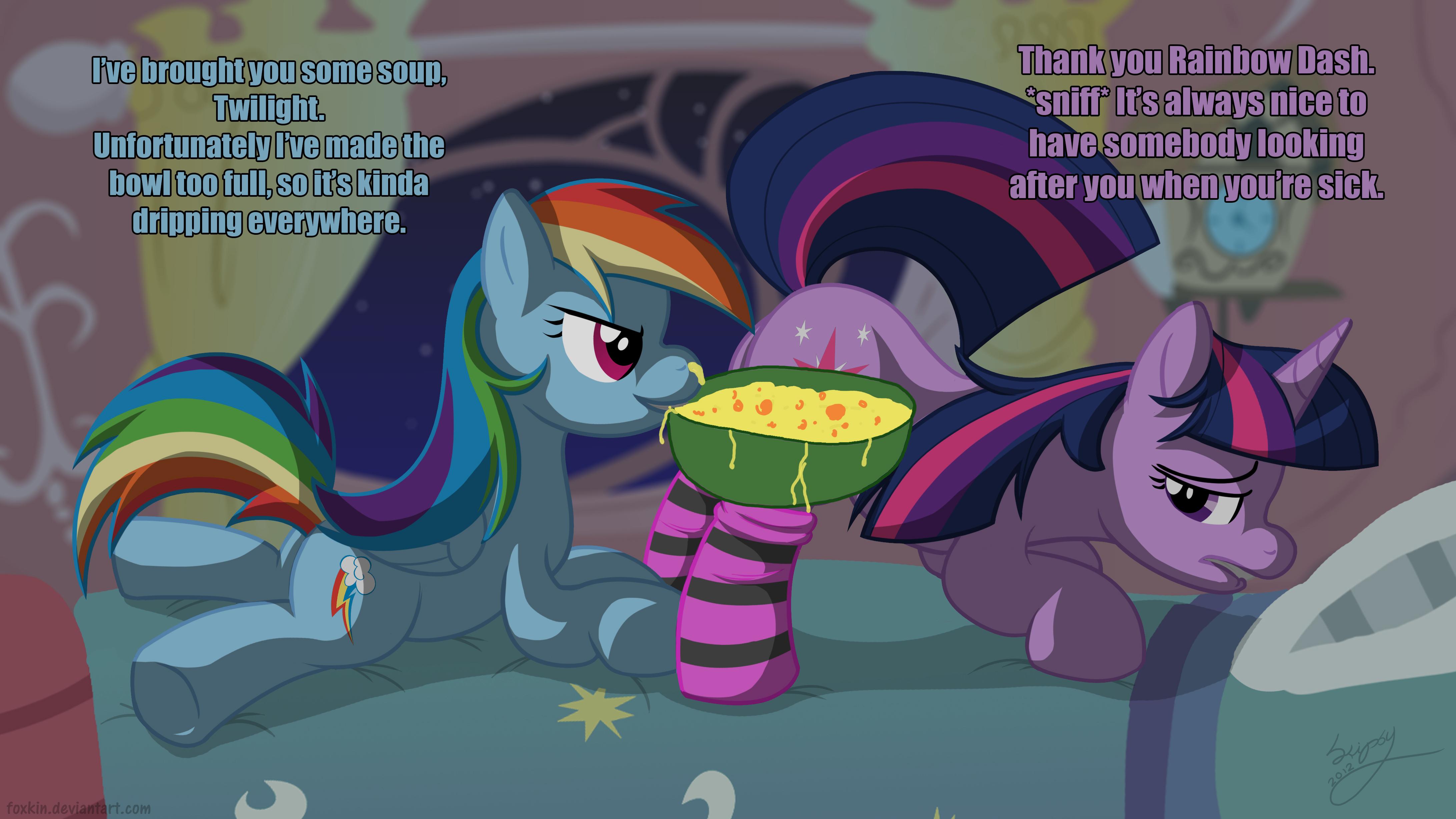 My Little Pony Crepúsculo Fluttershy Rainbow Dash Xxx