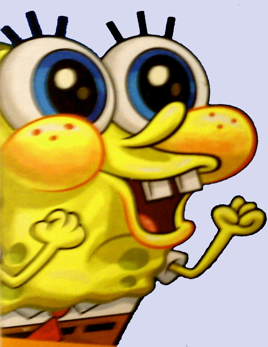 Spongebob's Excited Reaction   SpongeBob SquarePants ...