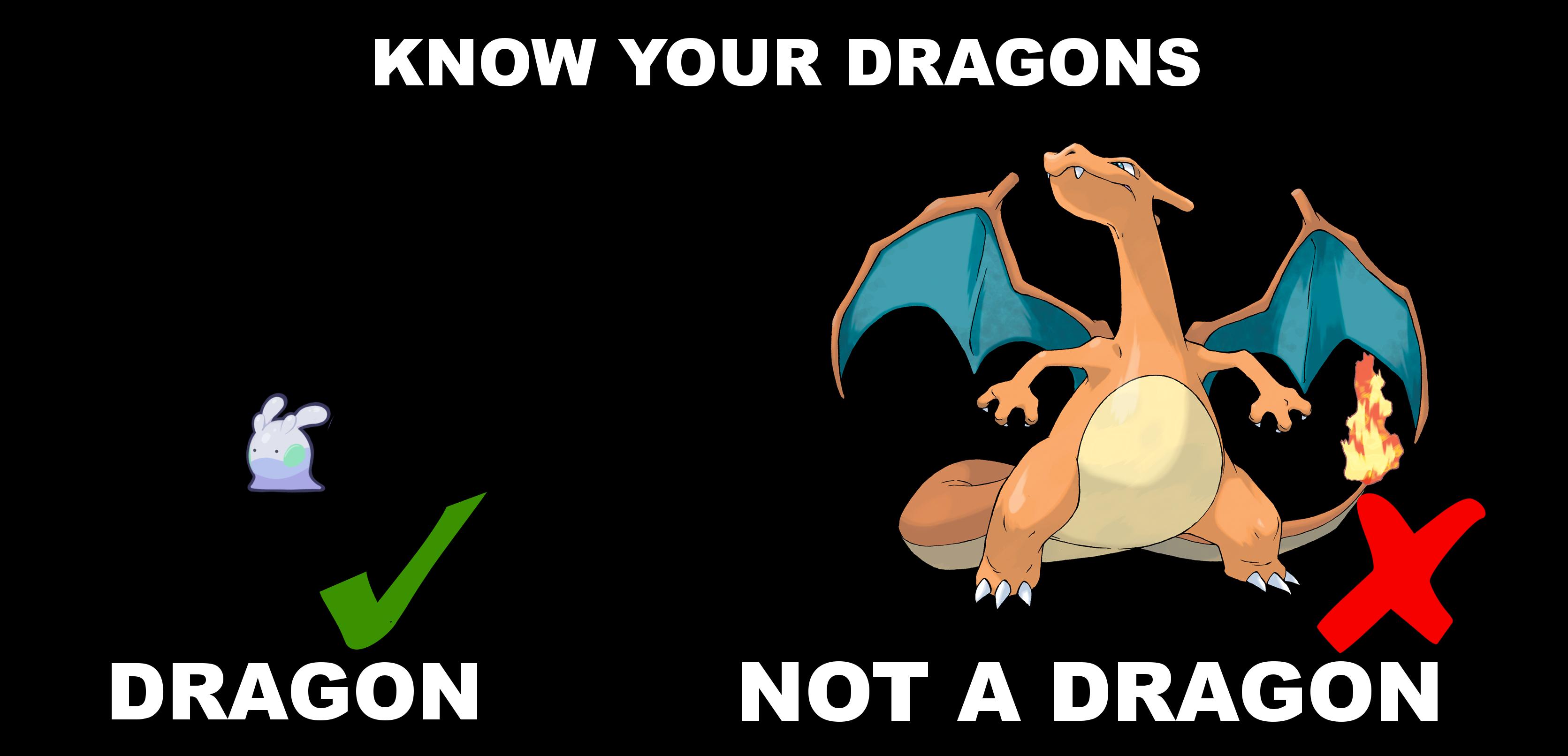 Fuckin' dragon types. How do they work? | Pokemon | Know ...