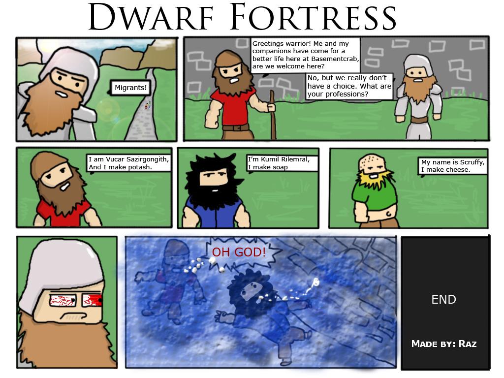 Standard Immigration Procedure 1 Dwarf Fortress Know