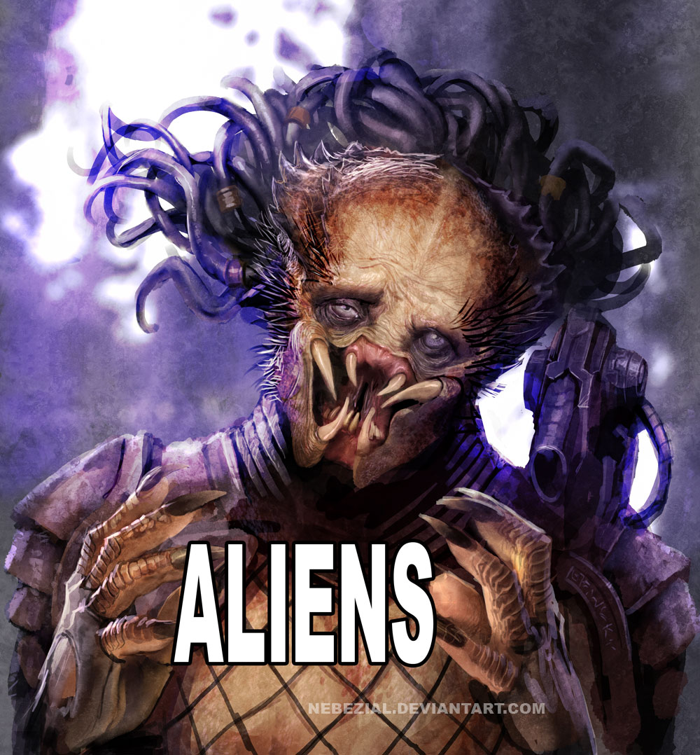 predators ancient aliens know your meme