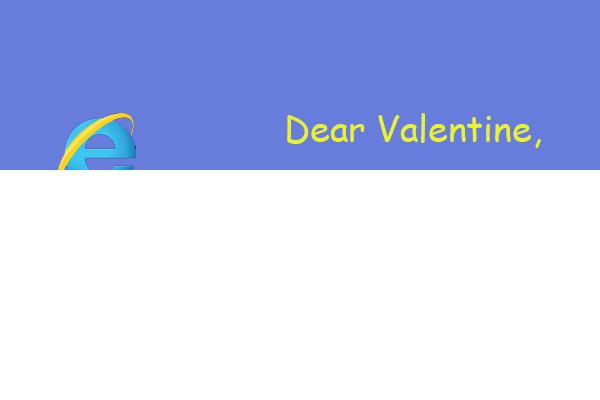 Internet Explorer Valentines Day Ecards – Valentines Day Email Cards