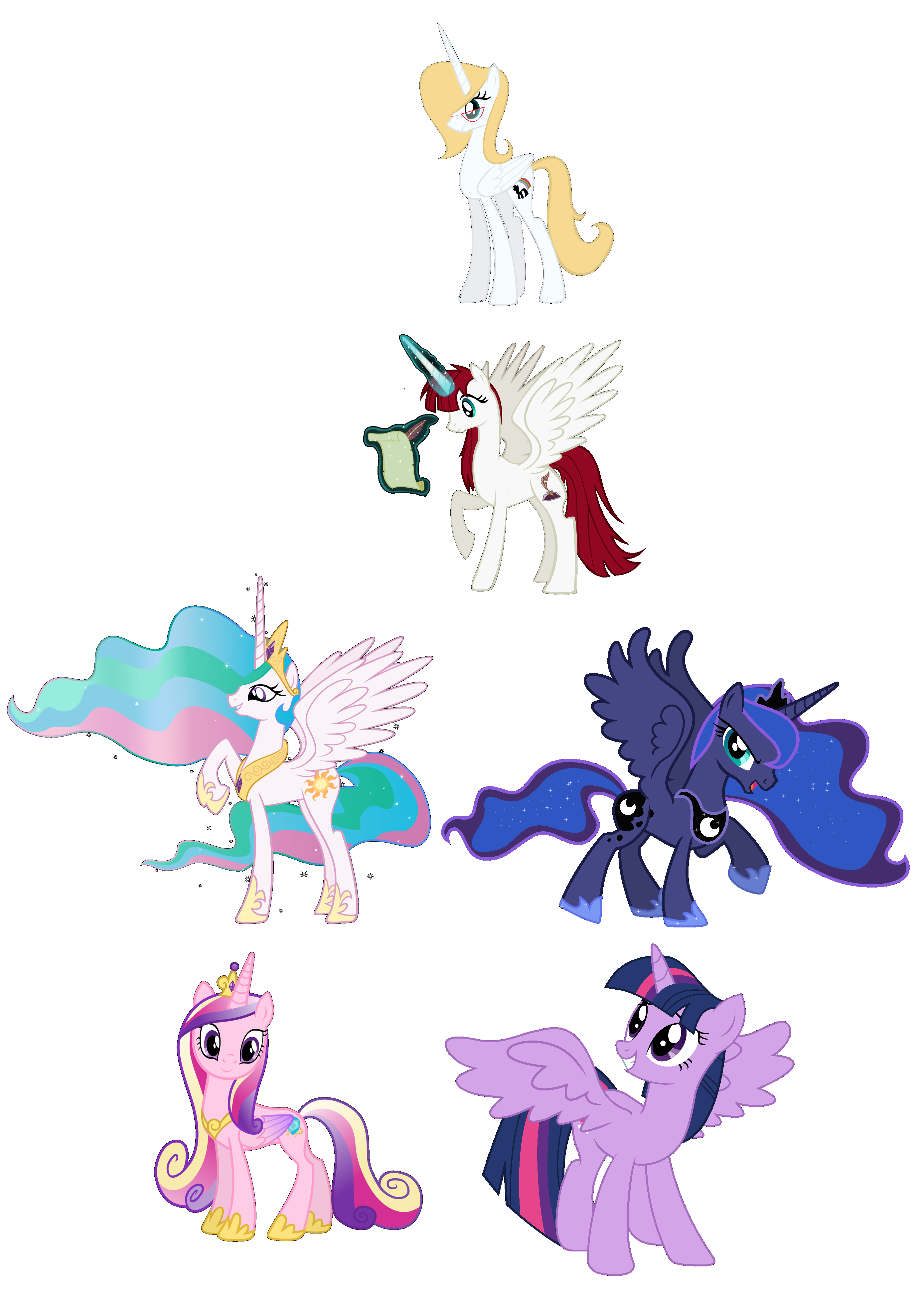 The Alicorn Chain Of Power My Little Pony Friendship Is