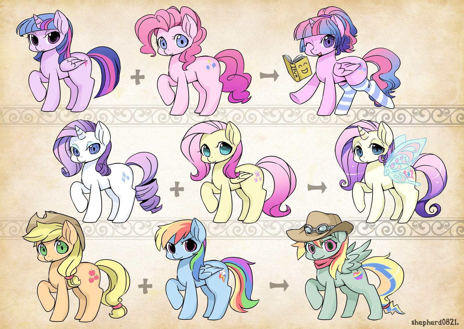 Fusion My Little Pony Friendship is Magic Know Your Meme