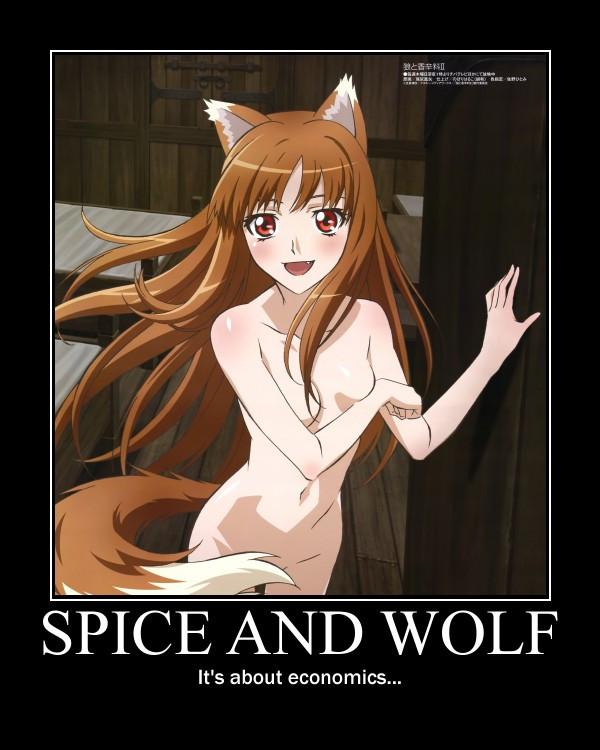 Horo, Spice and Wolf (16+) / арт, art, аниме, anime, волчица, okami, horo,