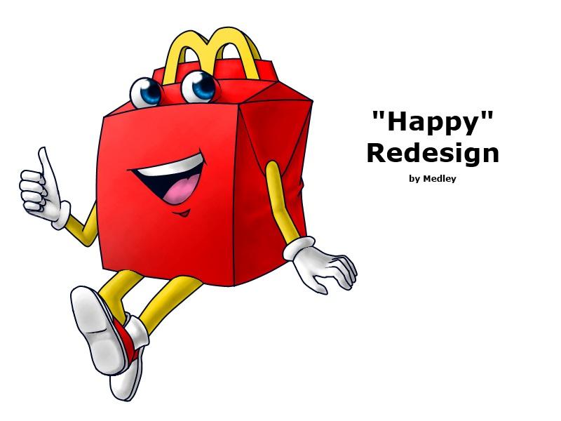 cuter redesign mcdonald s quot happy quot mascot your meme