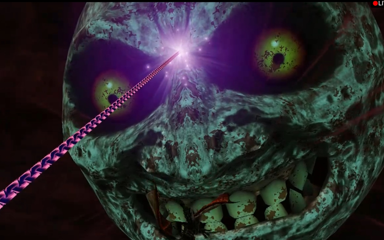 You Can Hookshot The Ing Moon Hyrule Warriors