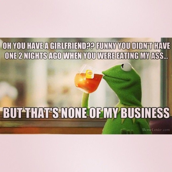 Kermit Is Yours For The Night.