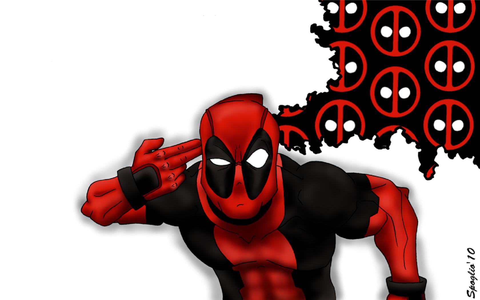 8chan Wallpaper: Wallpaper Deadpool By Spoglio91