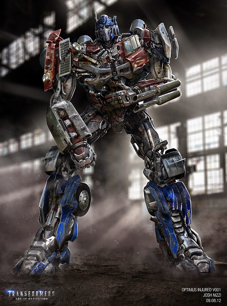 Injured Optimus Concept Art Transformers Know Your Meme
