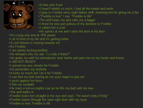 Freddy is love freddy is life five nights at freddy s know your