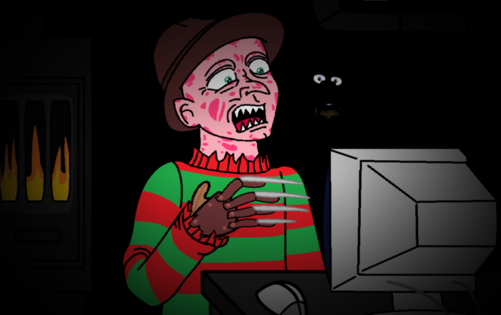 Freddy plays five nights at freddy s five nights at freddy s
