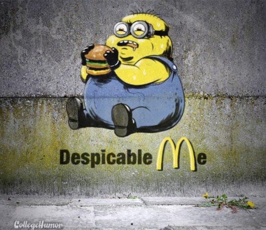 Fat Minion Despicable Me