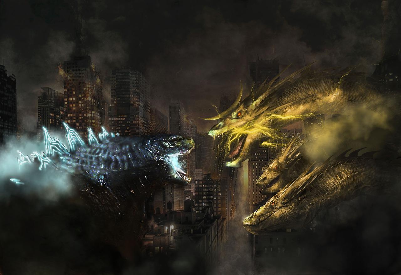 Godzilla 2018 vs. Ghidorah | Godzilla | Know Your Meme