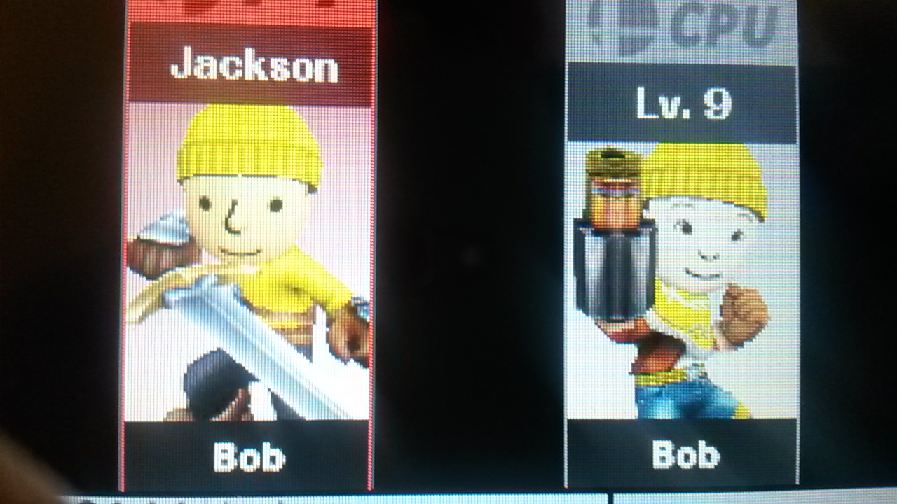 Old Bob The Builder Vs New Super Smash Brothers Know