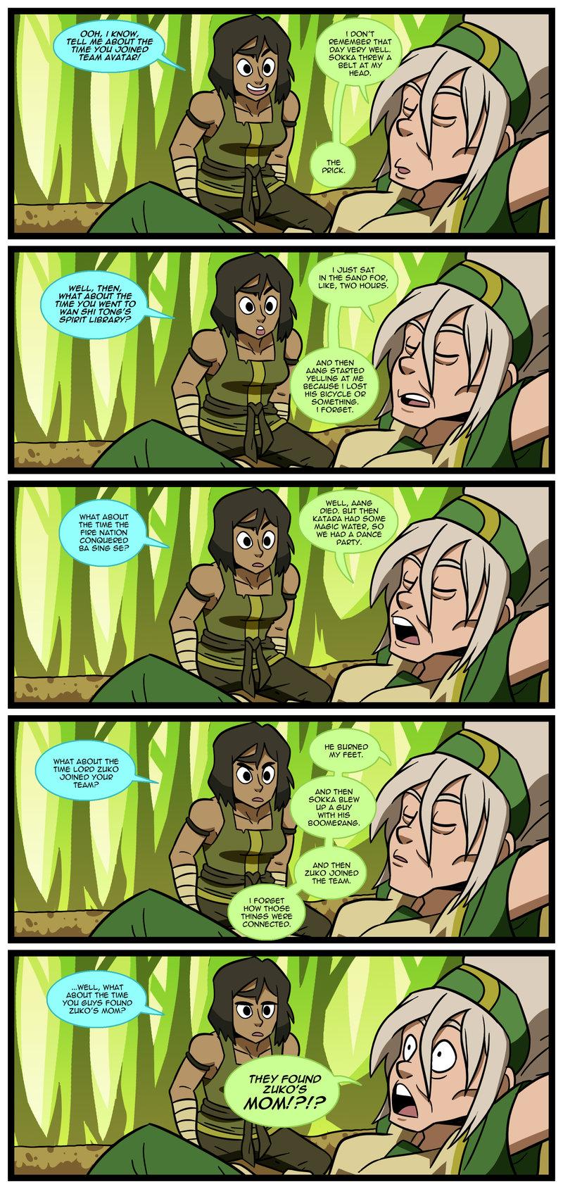 Avatar the Last Airbender - Avatar Aang x Katara - Keeping