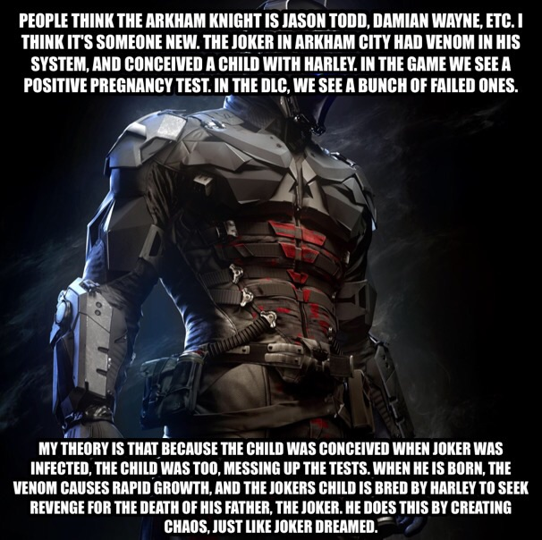 My Arkham Knight Theory Batman Know Your Meme